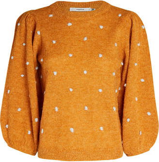 Gestuz Astan Polka Dot Sweater