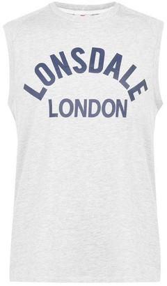 Lonsdale London Box Tank Vest Mens