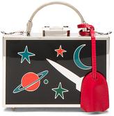 Mark Cross Galaxy Brass Grace Mini Box Bag