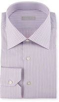 Stefano Ricci Striped Dress Shirt, Purple