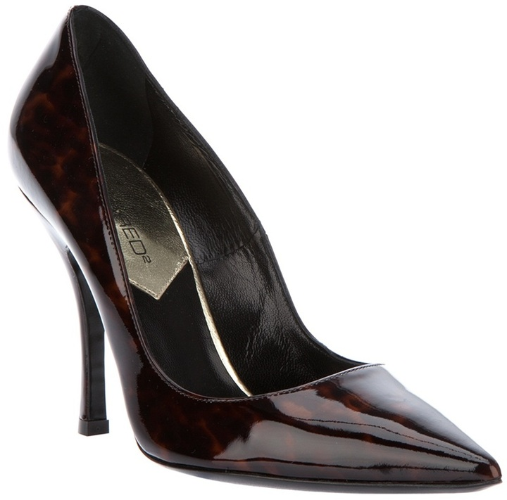 DSquared DSQUARED2 Pointed court shoe