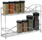 Spectrum Countertop 2-Tier Spice Rack - Chrome