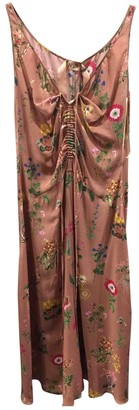 N°21 N21 Pink Silk Dress for Women