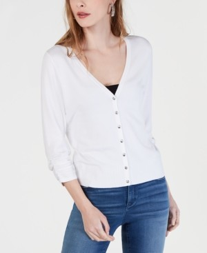 INC International Concepts Inc Solid Cardigan Sweater, Created for Macy's