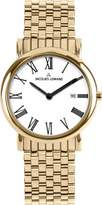 Jacques Lemans Unisex Watch Classic Analogue Quartz Stainless Steel Coated 1–1370O