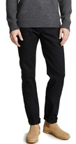 Naked & Famous Denim Weird Guy - Solid Black Selvedge Jeans