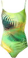 Lygia & Nanny - printed swimsuit - women - Polyamide/Spandex/Elastane - 38