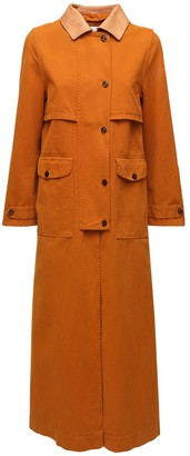 Forte Forte Cotton Canvas Trench Coat