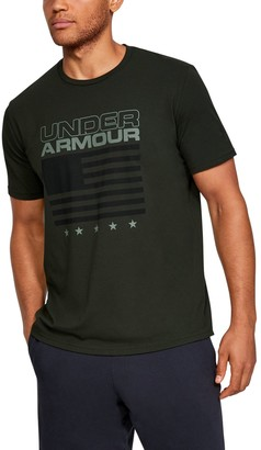 Under Armour Men's UA Flag Wordmark Short Sleeve