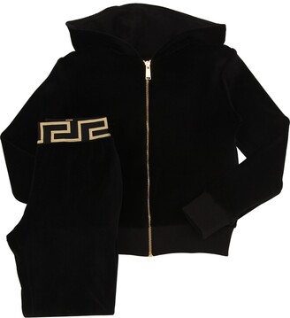 Versace Chenille Zip-up Sweatshirt & Sweatpants