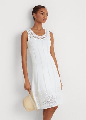 Ralph Lauren Pointelle Sleeveless Dress