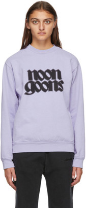 Noon Goons Purple Fleece Knight Sweatshirt