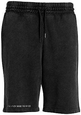 Marcelo Burlon County of Milan Men's Spirits Fade Out Sweat Shorts