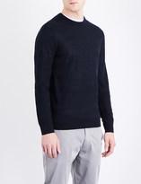 Armani Jeans Striped wool-blend jumper
