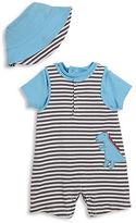 Offspring Babys Three-Piece Dino Shortall, T-Shirt and Hat Set