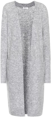 Acne Studios Raya mohair and wool-blend cardigan