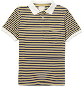 This is Not a Polo Shirt Striped Cotton-Blend Polo Shirt