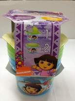 Dora the Explorer 3-Piece Set Snack N Store Food Storage Container