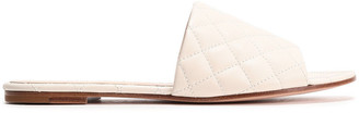 Gianvito Rossi Capri Quilted Leather Slides