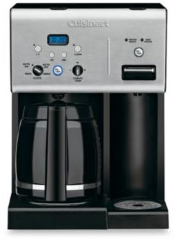 Cuisinart Coffee PlusTM 12-Cup Programmable Coffee Maker with Hot Water System