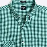 J.Crew Factory Slim washed shirt in plaid