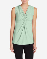 Eddie Bauer Women's Girl On The Go Twist Front Tank Top