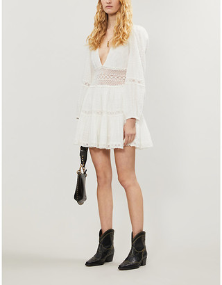 Free People The Delightful cotton mini dress