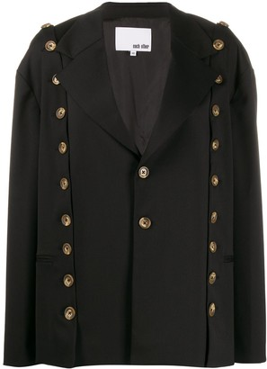 Each X Other button detail blazer