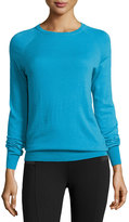 Equipment Sloane Crew-Neck Sweater, Fountain Blue