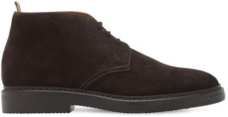 Doucal's Chukka Suede Lace-Up Boots
