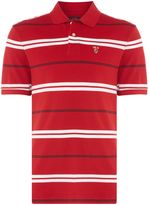 Howick Men's Ellis Stripe Pique Polo