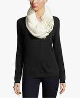 INC International Concepts Crochet Flower Infinity Loop, Only at Macy's