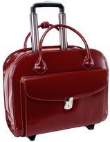 McKlein Granville Italian Leather Laptop Case