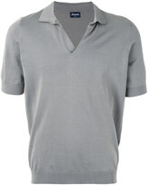 Drumohr knit polo shirt - men - Cotton - 46