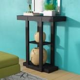 Avoca Console Table Ebern Designs Color: Cappuccino