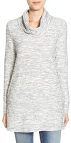Caslon Knit Cowl Neck Tunic (Regular & Petite)