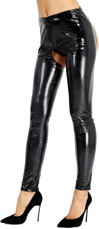 37b2770d7c58b Wet Look Leggings New Look - ShopStyle Canada