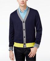 Tommy Hilfiger Men's Colorblocked Cotton Cardigan