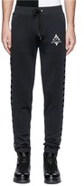 Marcelo Burlon County of Milan x Kappa logo embroidered track pants