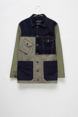 French Connection Field Patchwork Jacket
