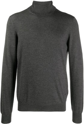 Fay Roll Neck Knit Jumper