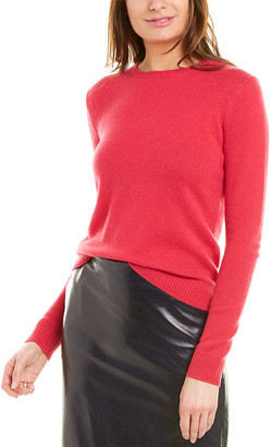 Theory Crewneck Feather Cashmere Sweater