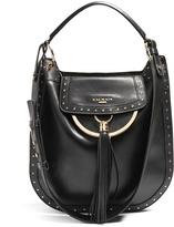 Balmain Domaine 33 leather shoulder bag