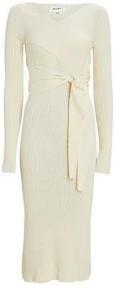The Line By K Kane Rib Knit Midi Dress