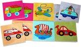 BabyCenter Hess Wooden Toddler Toy Memorie Vehicle