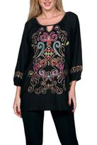 The Dressing Room Hand Beaded Multicolor Top
