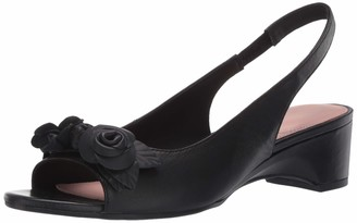 Taryn Rose Womens Nayla Slingback Black 8.5