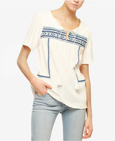 Sanctuary Santiago Cotton Peasant Top