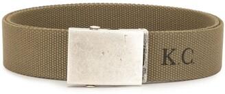 Kent & Curwen Logo Lettering Fabric Belt