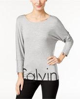 Calvin Klein Dolman-Sleeve Logo Top